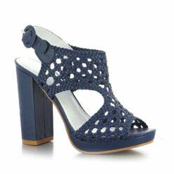 Dámske sandále na hrubom podpätku Laura Biagiotti