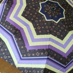 Fialový skladací dáždnik Laura Biagiotti