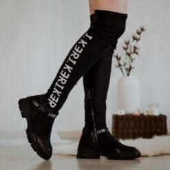 Elastické čižmy nad kolená J.KER