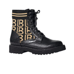 Workery Laura Biagiotti Calf Black Croco