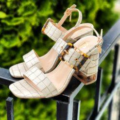 Sandále Laura Biagiotti na hrubom podpätku