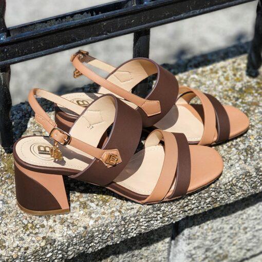 Dámske sandále na nízkom podpätkuLaura Biagiotti